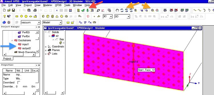 Project: 3D simulation and antennas